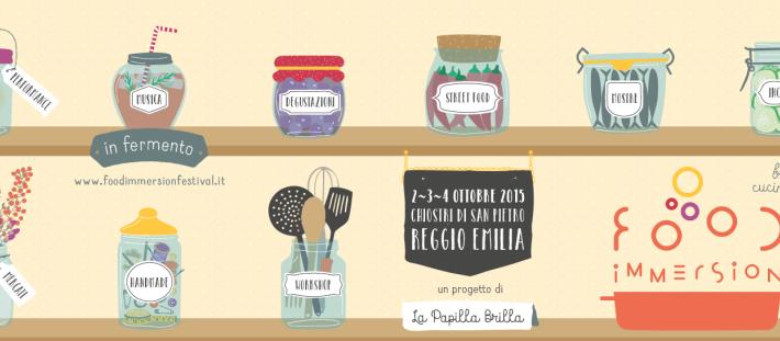 Food immersion 2015 a reggio emilia dal 2 al 4 ottobre il festival di cucina creativa - Corsi di cucina reggio emilia ...