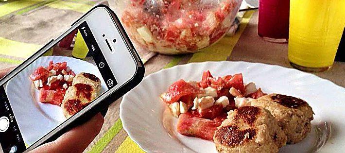 cibo nei media italiani 2020