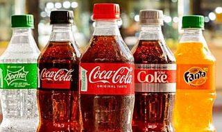 Coca Cola in bottiglia riciclata